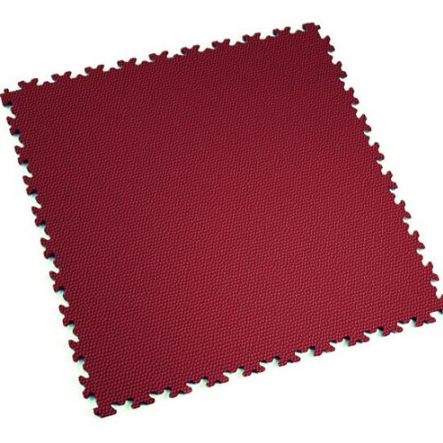 Burgundy Snakeskin - Motolock Interlocking Floor Tile